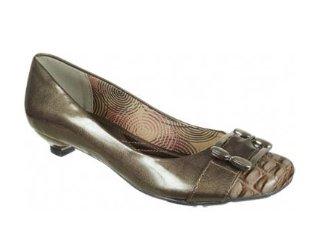 Sapato Feminino Via Marte 09-8205 Elefante - Tamanho Médio