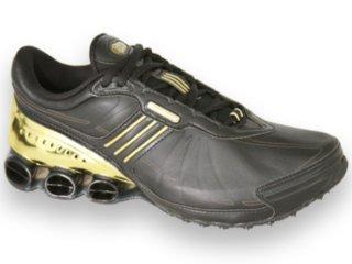 Tênis Masculino Adidas Hiperbounce G04853 Preto/dourado - Tamanho Médio