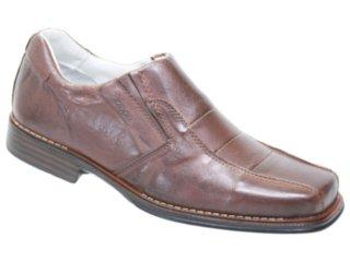 Sapato Masculino Kedoll 9805 Café - Tamanho Médio