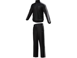 Abrigo Masculino Adidas E88021 Preto/branco - Tamanho Médio