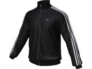 Jaqueta Masculina Adidas E14894 Preto/branco - Tamanho Médio