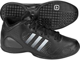 Tênis Masculino Adidas Series G08230 Preto/prata - Tamanho Médio