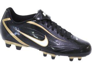 Chuteira Masculina Nike 316628-017 Preto/dourado - Tamanho Médio