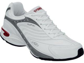 Tênis Masculino Olympikus Vigour 520 Branco/vermelho - Tamanho Médio