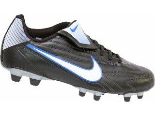 Chuteira Masculina Nike Premier 371626-011 Preto/branco/azul - Tamanho Médio