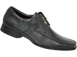 Sapato Masculino Jota pe 3631 Preto - Tamanho Médio
