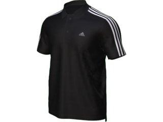 Camiseta Masculina Adidas E18093 Preto - Tamanho Médio