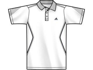 Camiseta Masculina Adidas E80511 Branco - Tamanho Médio