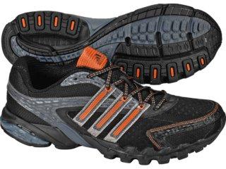 Tênis Masculino Adidas Zillian Synth G00194 Preto/laranja - Tamanho Médio