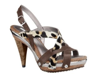 Sandália Feminina Tanara 292 Leopardo - Tamanho Médio