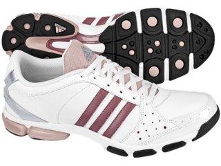 Tênis Feminino Adidas Core G03524 Branco/rosa - Tamanho Médio