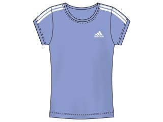 T-shirt Feminino Adidas P14927 Lilas - Tamanho Médio