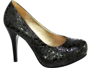 Sapato Feminino Tanara 0611 Preto - Tamanho Médio