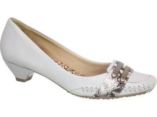 Sapato Feminino Ramarim 95207 Gelo - Tamanho Médio