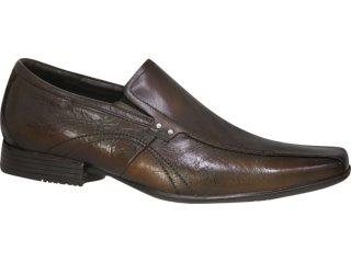 Sapato Masculino Ferracini 6162 Mogno - Tamanho Médio
