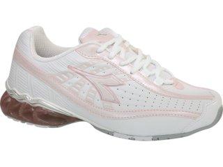 Tênis Feminino Diadora Tornante 350587 Branco/rosa - Tamanho Médio