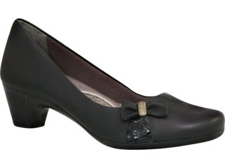 Sapato Feminino Comfortflex 95203 Preto - Tamanho Médio