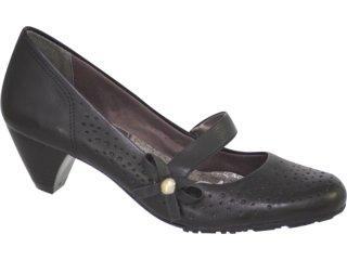 Sapato Feminino Ramarim 96205 Preto - Tamanho Médio