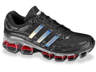 Tênis Masculino Adidas Lonestar 174661 Preto/vermelho - Tamanho Médio