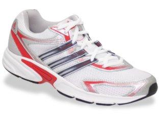 Tênis Feminino Adidas Optiq k G00469 Branco/vermelho - Tamanho Médio