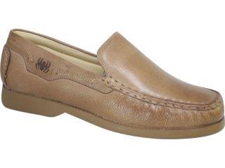 Sapato Masculino Ferricelli 1100 Amendoa - Tamanho Médio