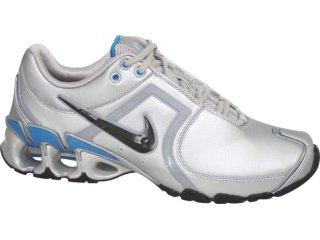 Tênis Masculino Nike Impax 334209-007 Cinza/azul - Tamanho Médio