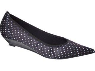 Sapato Feminino Brenners 1900 Preto Poa - Tamanho Médio