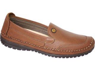 Sapato Masculino Free Way Levi  Sesamo - Tamanho Médio