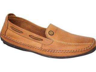 Sapato Masculino Free Way Rock 2 Tan - Tamanho Médio