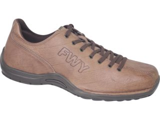 Sapato Masculino Free Way Hunter 4 Chocolate - Tamanho Médio