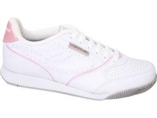 Tênis Feminino Olympikus Retrô 560 Branco/rosa - Tamanho Médio