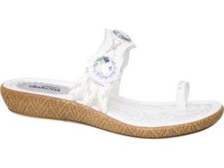 Tamanco Feminino Dakota 4081 Branco - Tamanho Médio