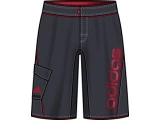 Bermuda Masculina Adidas E80098 Cinza - Tamanho Médio