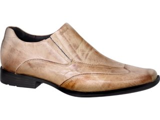 Sapato Masculino Ferracini 2893 Palha - Tamanho Médio