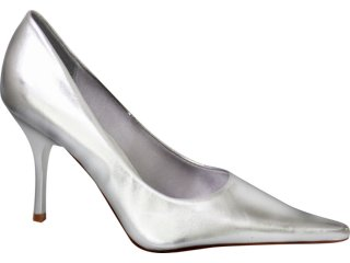 Sapato Feminino Vizzano 1125200 Prata - Tamanho Médio