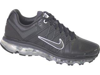 Tênis Masculino Nike Air Max Leather 366718-001 Preto - Tamanho Médio
