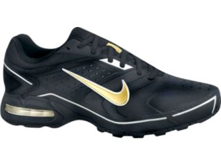 Tênis Masculino Nike Air Max Spears 349018-071 Preto/ouro - Tamanho Médio
