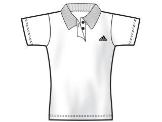 T-shirt Feminino Adidas 474716 Branco - Tamanho Médio