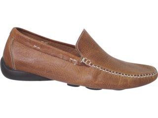 Sapato Masculino Democrata 327009 Cacau - Tamanho Médio