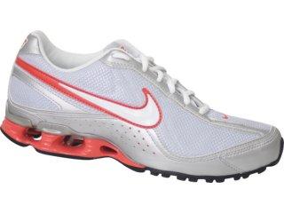 Tênis Feminino Nike 316517 Prata/salmão - Tamanho Médio