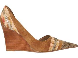 Sapato Feminino Tanara 6042/1 Amendoa - Tamanho Médio