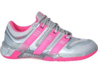 Tênis Feminino Adidas 807035 Prata/rosa - Tamanho Médio