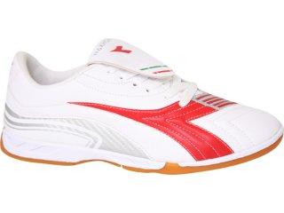 Tênis Masculino Diadora Maximus 300792 Branco/vermelho - Tamanho Médio