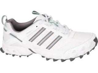 Tênis Feminino Adidas Kanadia G14308 Branco/verde - Tamanho Médio