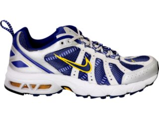 Tênis Masculino Nike Air Max Assail Iii 312899 Cinz - Tamanho Médio