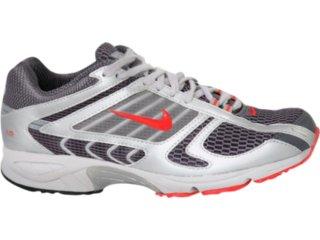 Tênis Masculino Nike 314751 Cinza/vermelho - Tamanho Médio