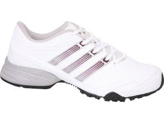 Tênis Feminino Adidas Shilloh G29266 Bco/prt/ros - Tamanho Médio