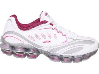 Tênis Feminino Olympikus Advance 596 Branco/pink - Tamanho Médio