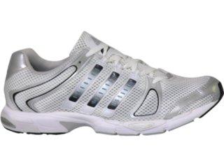 Tênis Masculino Adidas 17685 Branco/prata - Tamanho Médio