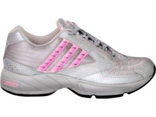 Tênis Feminino Adidas 444657 Cinza/rosa - Tamanho Médio